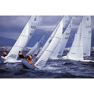 Kiel Regatta, Stretched Canvas, 24