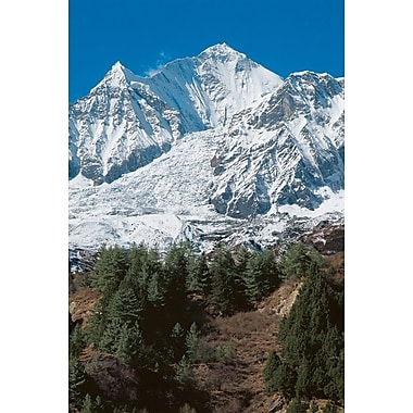 Dhaulagiri I Nepal, Stretched Canvas, 24