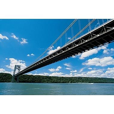 George Washington Bridge, toile tendue, 24 x 36 po