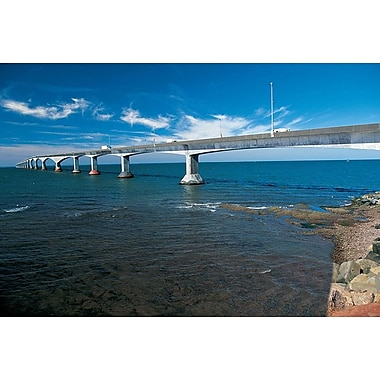 Confederation Bridge PEI, Stretched Canvas, 24