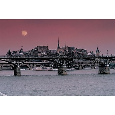 Budapest Bridges, Stretched Canvas, 24