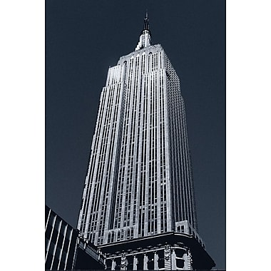 L'Empire State Building, toile tendue, 24 x 36 po