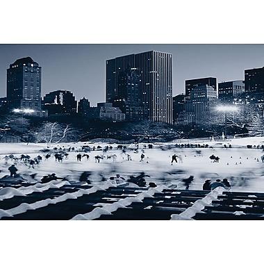 Wollman Rink à Central Park, toile, 24 x 36 po