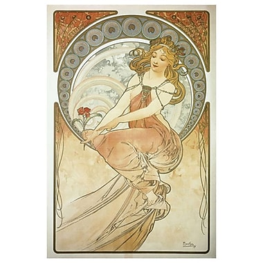 The Arts Painting par Mucha, toile, 24 x 36 po