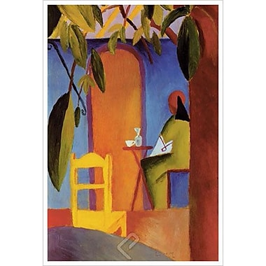 Turkisches Cafe II by Macke, Canvas, 24