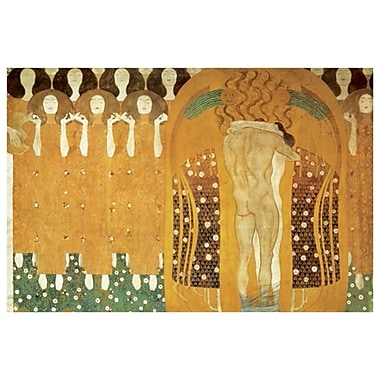Beethoven Frieze by Klimt, Canvas, 24