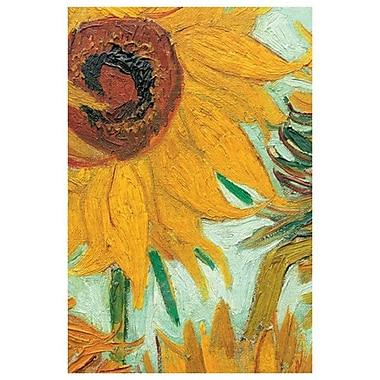Les tournesols II par Van Gogh, toile, 24 x 36 po