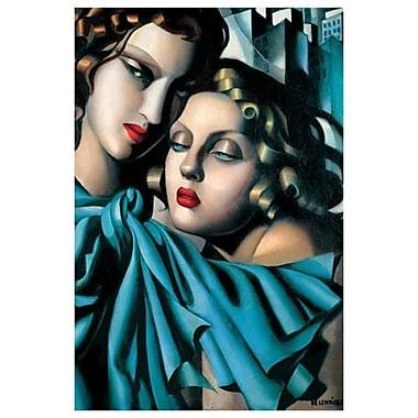 Les Jeunes Filles par Lempicka, toile, 24 x 36 po