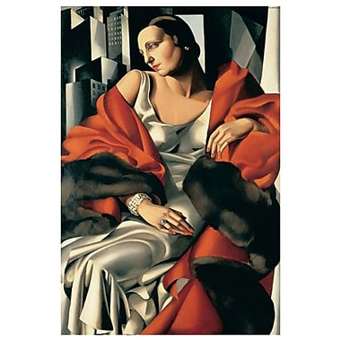 Madame Boucard by Lempicka, Canvas, 24