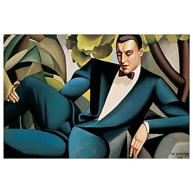 Marquis d'Afflitto by Lempicka, Canvas, 24