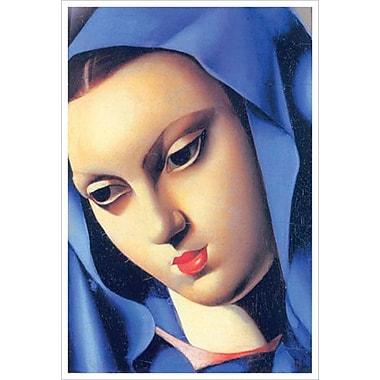 Vierge Bleue par Lempicka, toile, 24 x 36 po