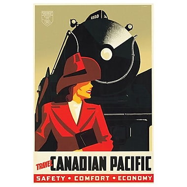 Canadian Pacific – Safety Comfort Economy II, toile tendue, 24 x 36 po