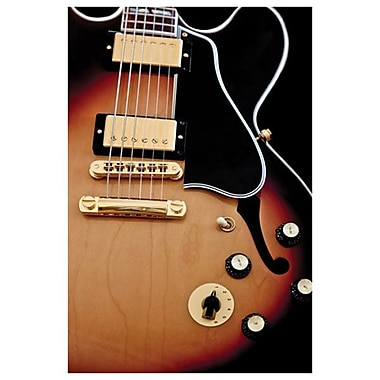 Guitare Gibson de James, toile, 24 x 36 po