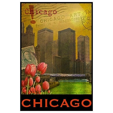 Chicago de Vest, toile, 24 x 36 po