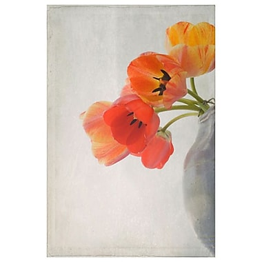 Tulipes rouges 2 de Stalus, toile, 24 x 36 po