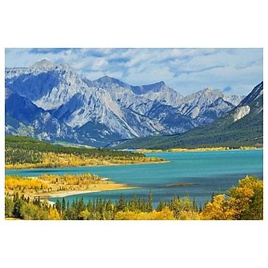 Lac Abraham de Grandmaison, toile de 24 x 36 po