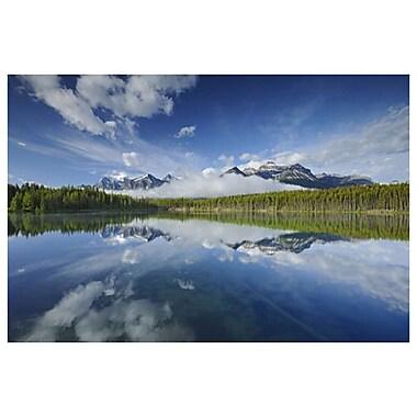 Lac Herbert de Grandmaison, toile de 24 x 36 po
