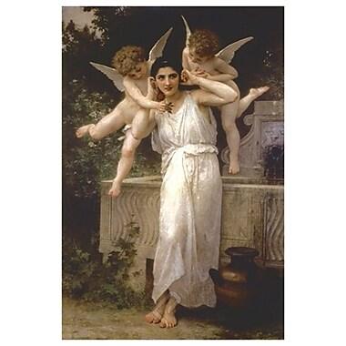L'innocence de Bouguereau, toile de 24 x 36 po