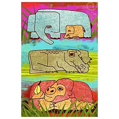 Zoo Animals 1 by Keenan, Canvas, 24