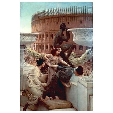 Le Colisée de Alma-Tadema, toile de 24 x 36 po