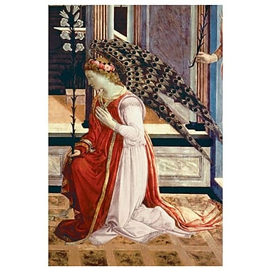 Annunciation (1457/8) by Lippi, Canvas, 24