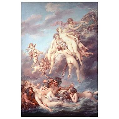 La naissance de Vénus par Charlier, toile, 24 x 36 po