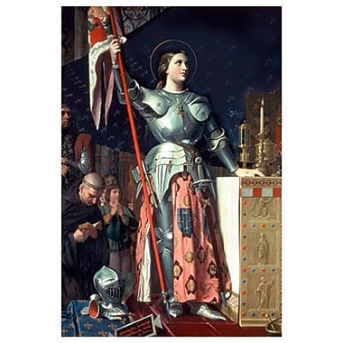 Joan of Arc by Ingres, Canvas, 24