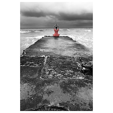 Girl on Wharf 2 by Stoneman, Canvas, 24