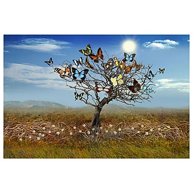 The Butterfly Tree de Simpson, toile, 24 x 36 po