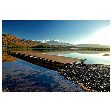 Caragh Lake Boardwalk de Ringlever, toile, 24 x 36 po