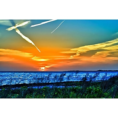 Wings and Jets Sunset by Vaughan, Canvas, 24