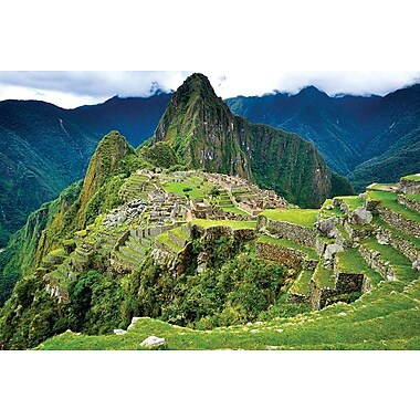 Machu Picchu Overview, Stretched Canvas, 24