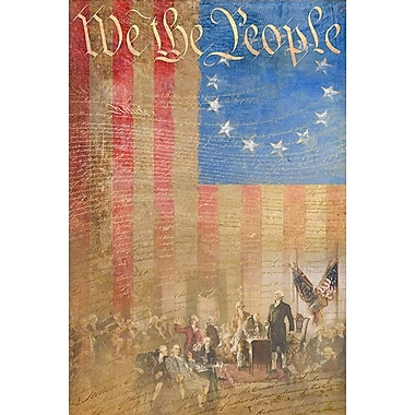 Constitution, Stretched Canvas, 24