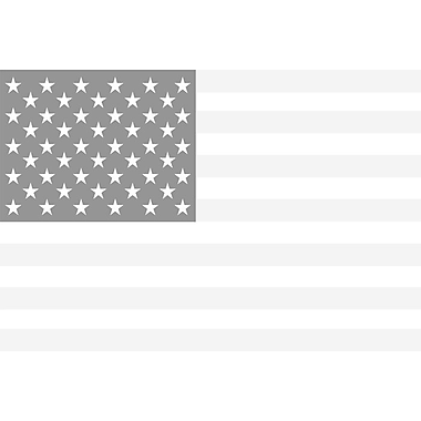 America, The White by SM Design, Canvas, 24