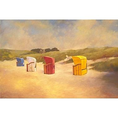 Plage d'été I par Reynolds, toile, 24 x 36 po