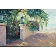 Musique de plage par Pollard, toile, 24 x 36 po