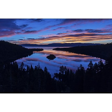 Emerald Bay Sunrise Lake Tahoe by Polk, Canvas, 24