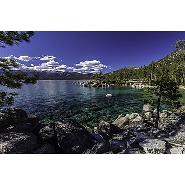 Sand Harbor Lake Tahoe by Polk, Canvas, 24