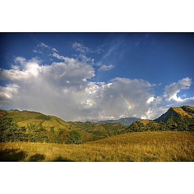 Afternoon Rainbow and Clouds by Nalbandian, Canvas, 24