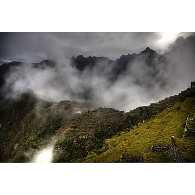 Machu Picchu Fog by Nalbandian, Canvas, 24