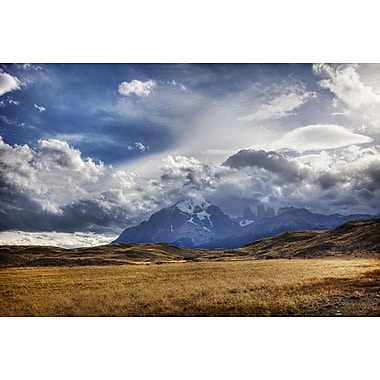 Mountain Peaks and Open Fields by Nalbandian, Canvas, 24