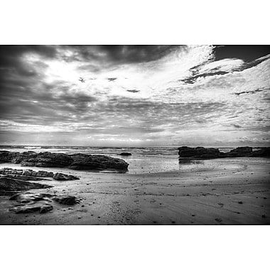 Black and White Beach by Nalbandian, Canvas, 24