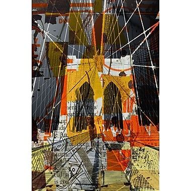 New York II par Orlov, toile, 24 x 36 po