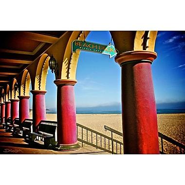 Boardwalk Stroll by Nelson, Canvas, 24
