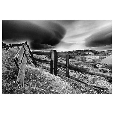 Cieux orageux (Nevada), toile tendue, 24 x 36 po