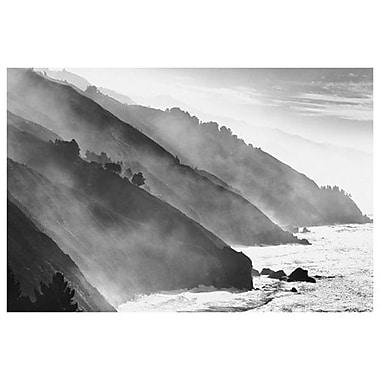 Big Sur Coastline- California, Stretched Canvas, 24