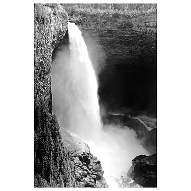 Helmcken Waterfalls-Wells Gray, Stretched Canvas, 24