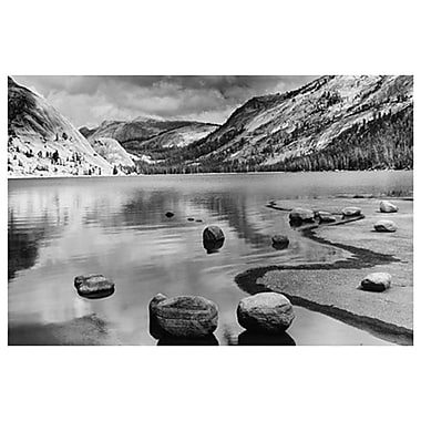 Calm Waters- Yosemite- CA, Stretched Canvas, 24