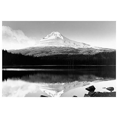 Mont Hood (Oregon), toile tendue, 24 x 36 po