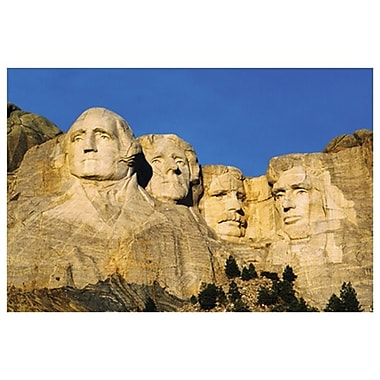 Mt Rushmore - US Presidents, Stretched Canvas, 24